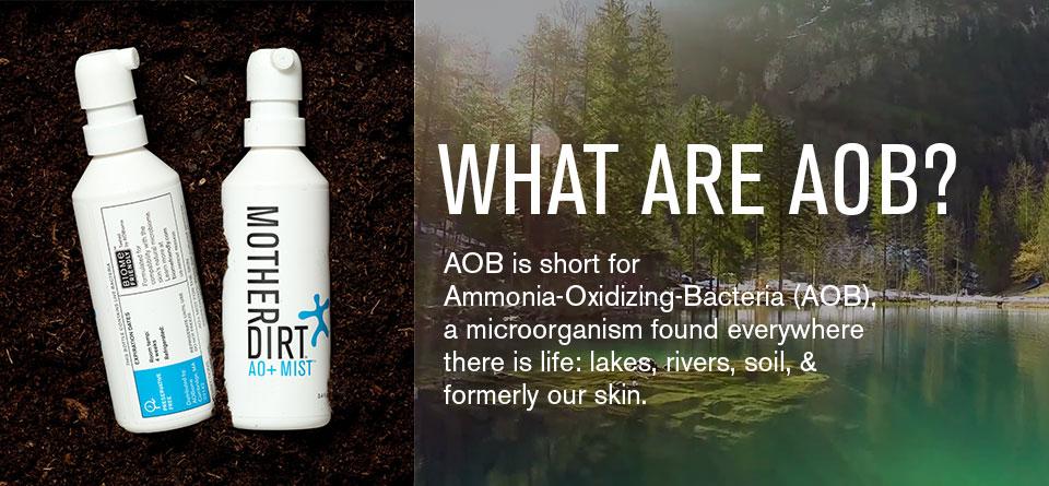 AOBiome社は石鹸をやめて、かわりに細菌で洗うことを勧めています!