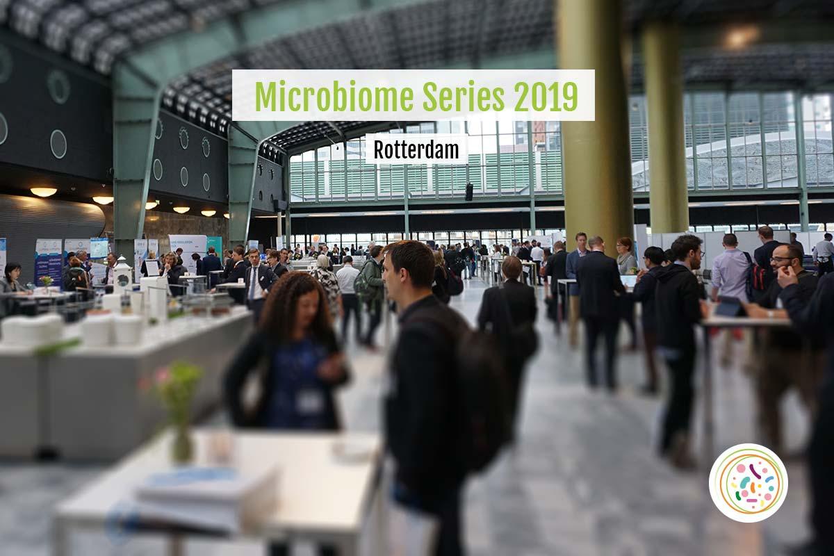 マイクロバイオーム・カンファレンス2019、ワールドトレードセンター(ロッテルダム)