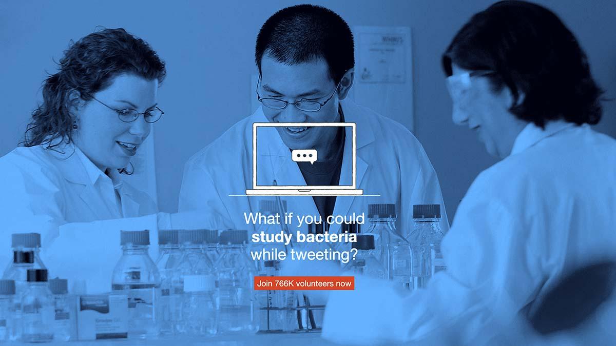 IBMコーポレートシチズンシップが開始したプロジェクトに、現在およそ65万人の個人と460の機関が参加しています。