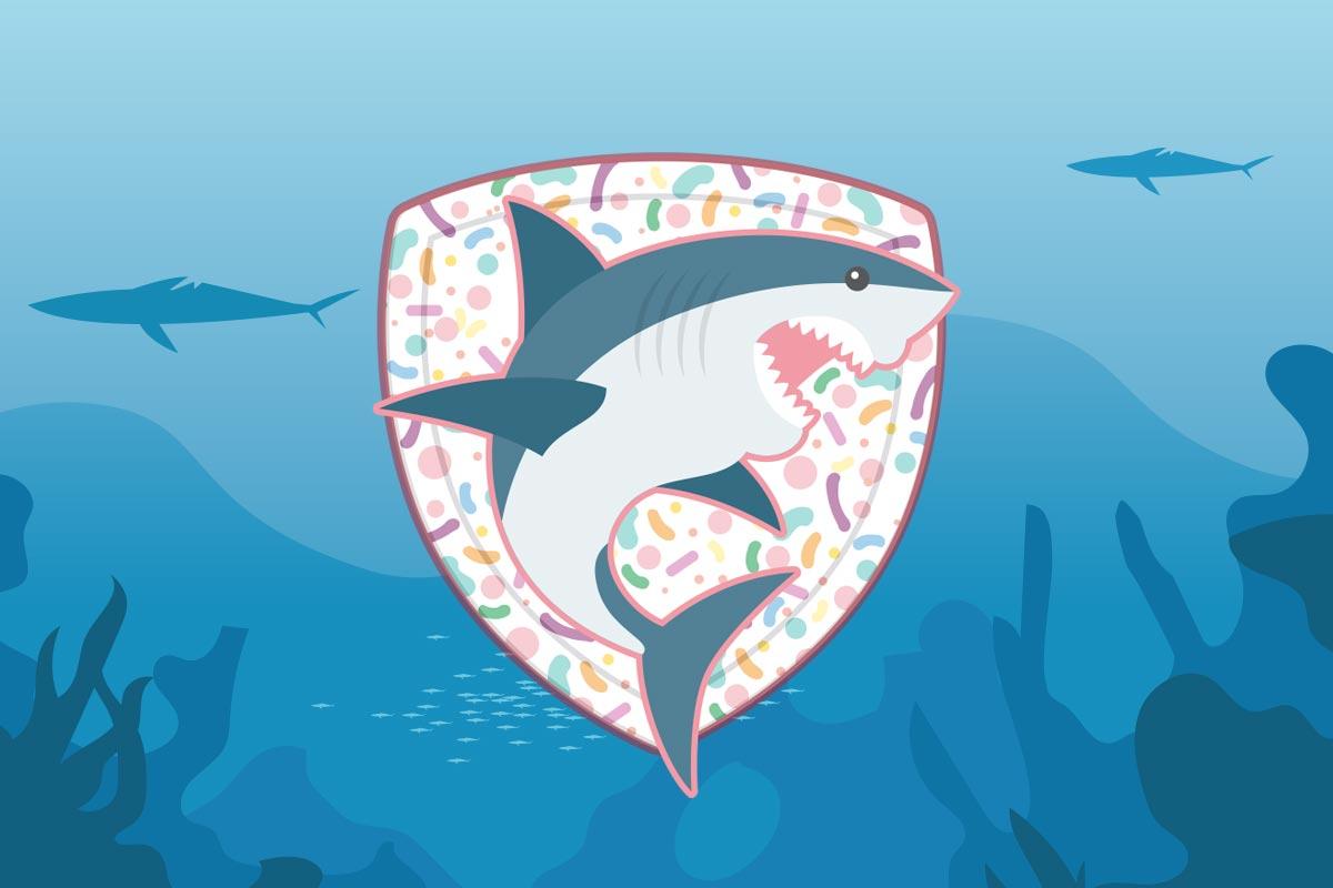 サメのマイクロバイオームは皮ふの修復に関わっている可能性があります。